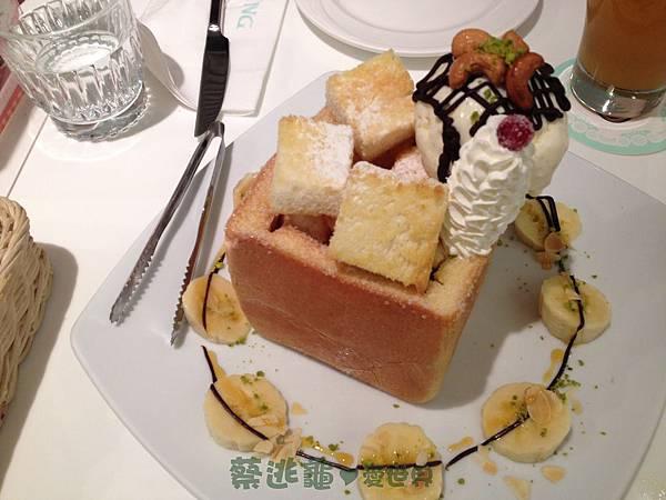香蕉巧克力蜜糖吐司 @ Dazzling Cafe Mint