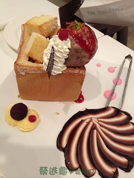 巧克力蜜糖吐司 @ Dazzling Cafe Mint