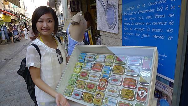 可愛的魚罐頭店 @ Cannes 坎城 France