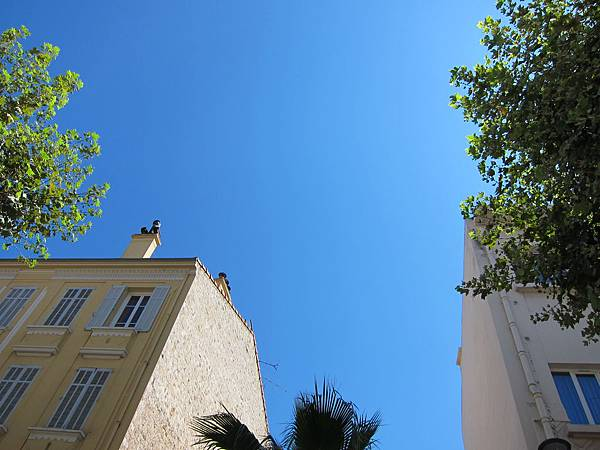 南法的天空好藍@ Cannes 坎城 France