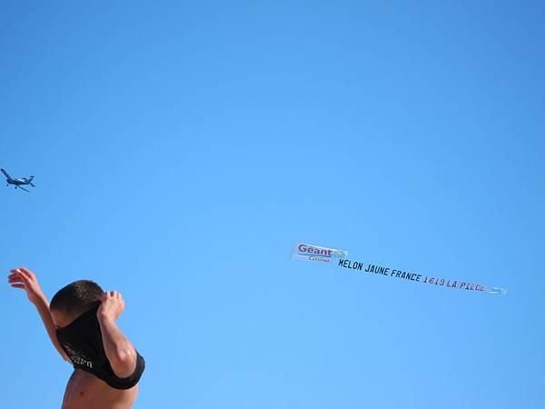天空上的廣告@ Cannes 坎城 France