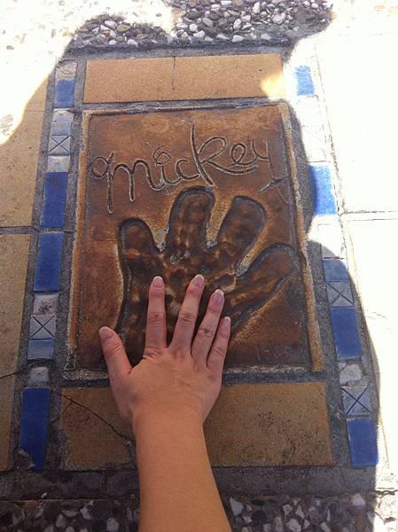 米奇的手印 !!  @ Cannes 坎城 France