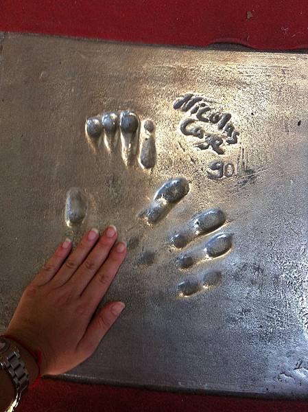 尼可拉斯凱吉的手印 @ Cannes 坎城 France