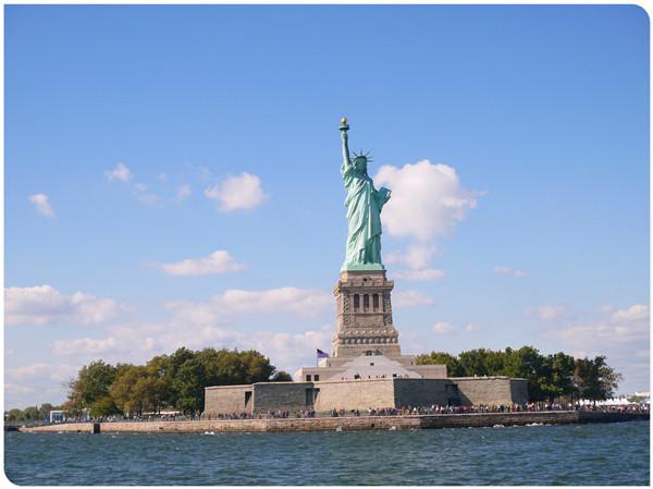 坐船看自由女神22