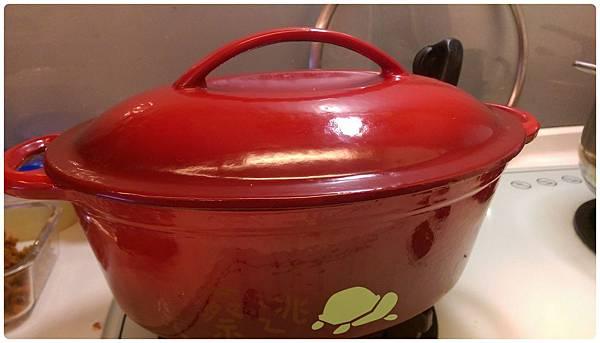 鑄鐵鍋炸豬油5