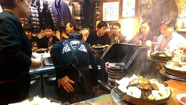 日本北海道成吉思汗羊肉鍋Daruma16.jpg