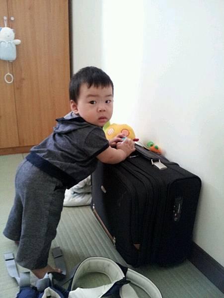 去宜蘭的行李款好了!