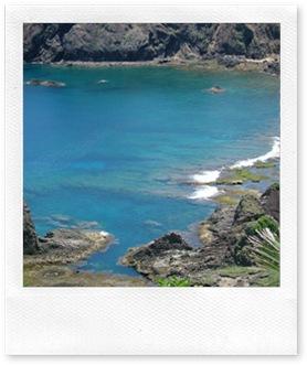 讓人忘憂的藍綠色海水