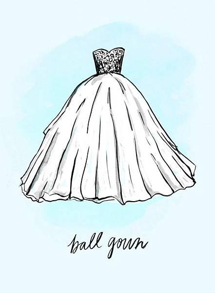禮服-澎裙禮服(Ball Gown)