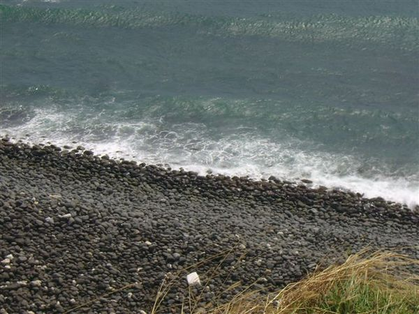 喜歡看海浪打上來的感覺~~~