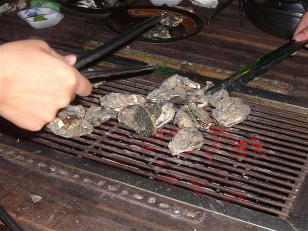 烤牡蠣~~~