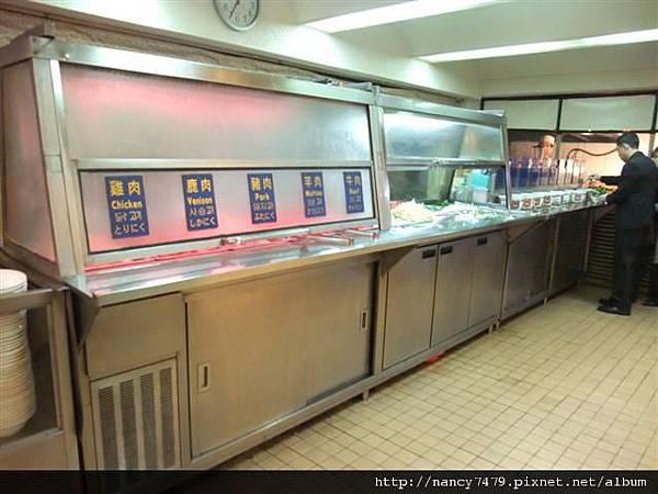烤肉取菜區