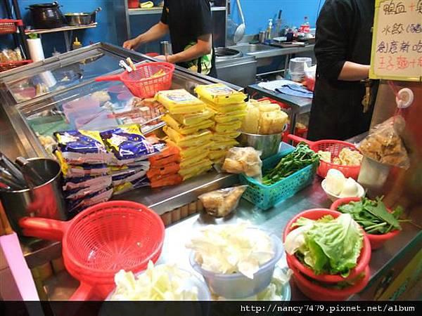 保鮮冰櫃+青菜
