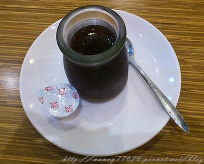 甜點咖啡凍