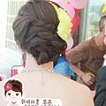 送客造型.編髮造型.氣質.典雅.新娘髮型