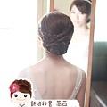 典雅盤髮.新娘造型.新秘.萳西
