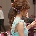 鮮花.浪漫長髮.新娘造型.新秘.萳西