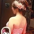 短髮.新娘.造型.新秘.萳西