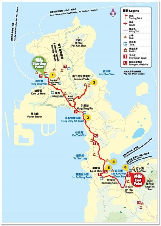 南ㄚ島map