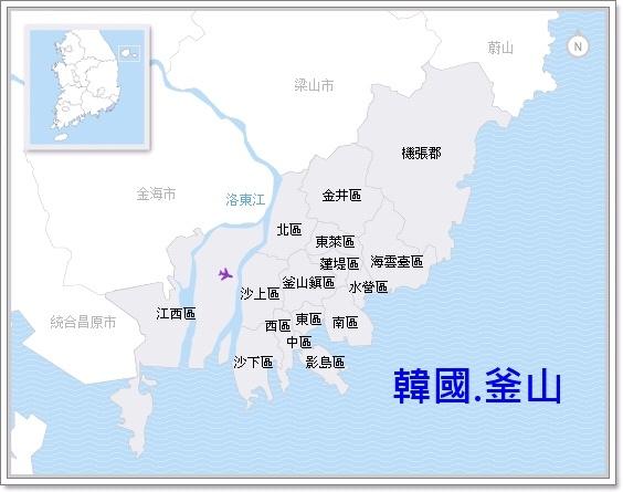 MAP-釜山