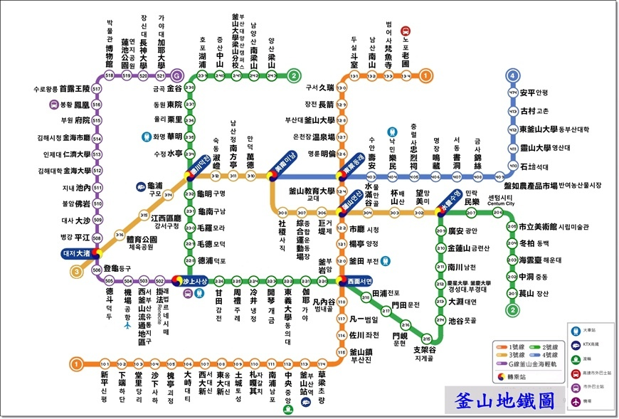 釜山地鐵1