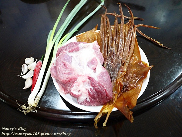 魷魚燉肉-食材-1