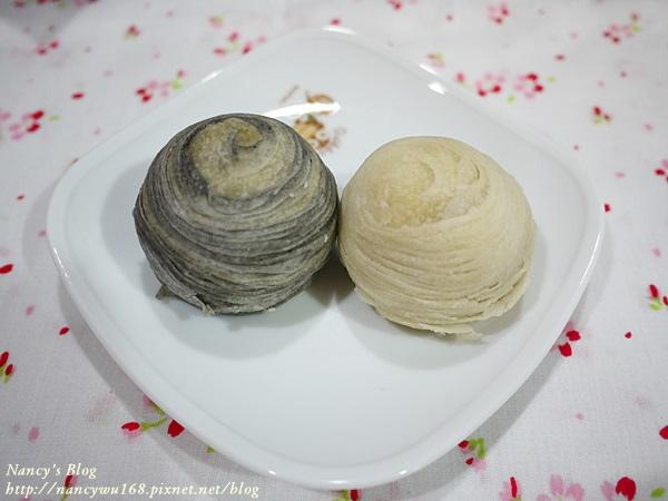 墨魚干貝酥&芋頭酥