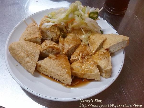 阿漢蚵仔麵線-臭豆腐