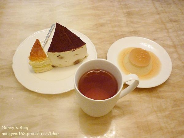 飯後甜點及茶品.JPG