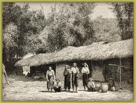 西拉雅的房子與婦女