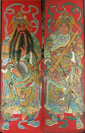 寺廟彩繪圖像故事-門神畫