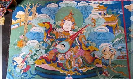 寺廟彩繪-壁畫