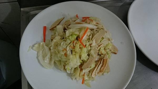 302C-5豆乾炒高麗菜