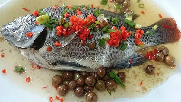 302A-2樹子蒸魚~古早美味