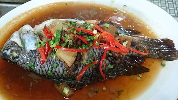 302E鹹冬瓜豆醬蒸魚