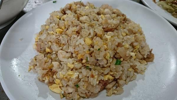 302E蘿蔔乾雞粒炒飯