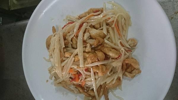 301D 雞肉炒筍絲