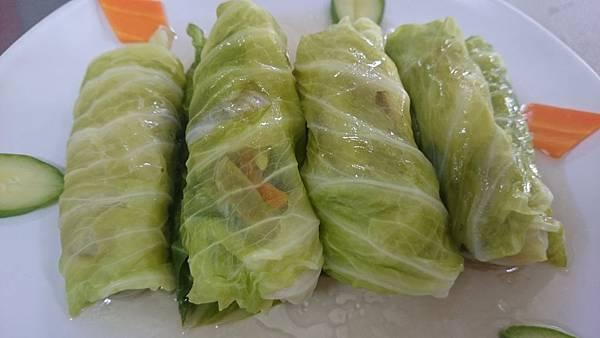 302C蒸什錦高麗菜捲