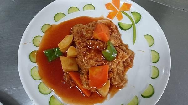 303C燒茄汁豆包塊