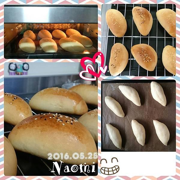 芝麻橄欖型麵包