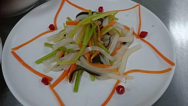 303D涼拌蒟蒻絲芹菜