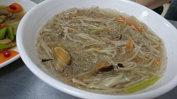 303E金菇粉絲湯