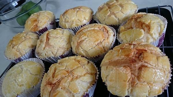 幸福菠蘿麵包