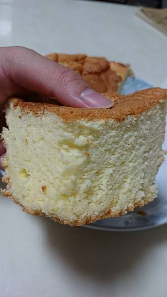 鬆軟牛奶戚風蛋糕