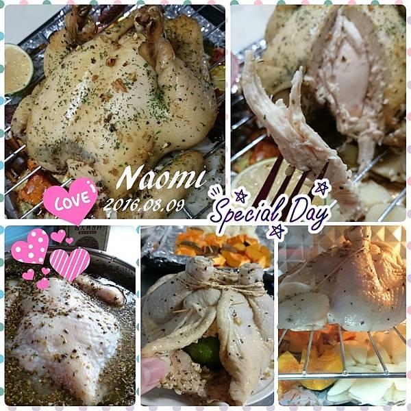 義式香料烤全雞