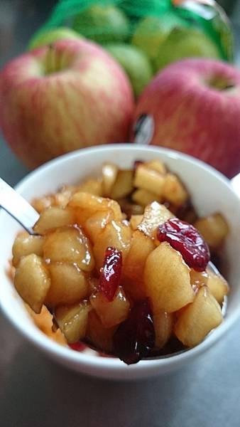 自製蘋果餡