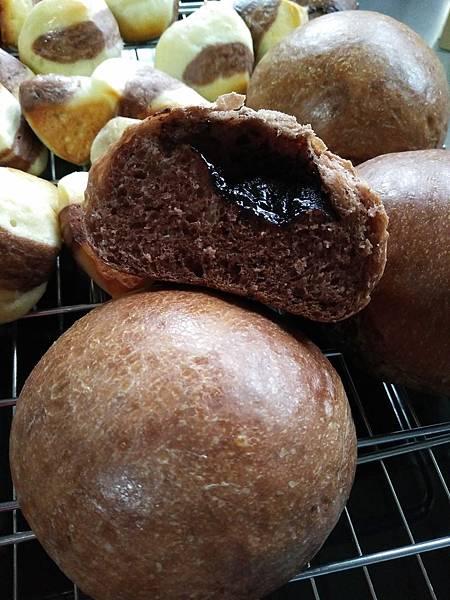 融漿巧克力麵包