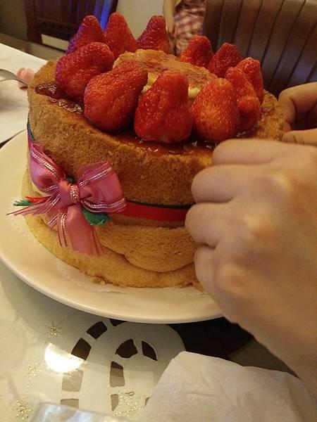無鮮奶油蛋糕裝飾