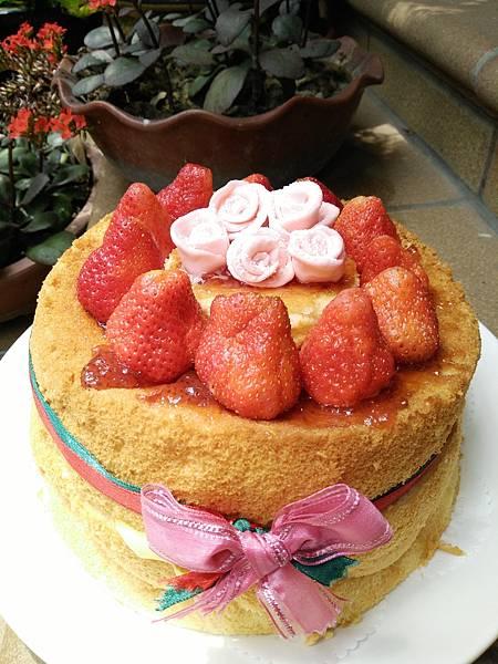 無鮮奶油生日蛋糕