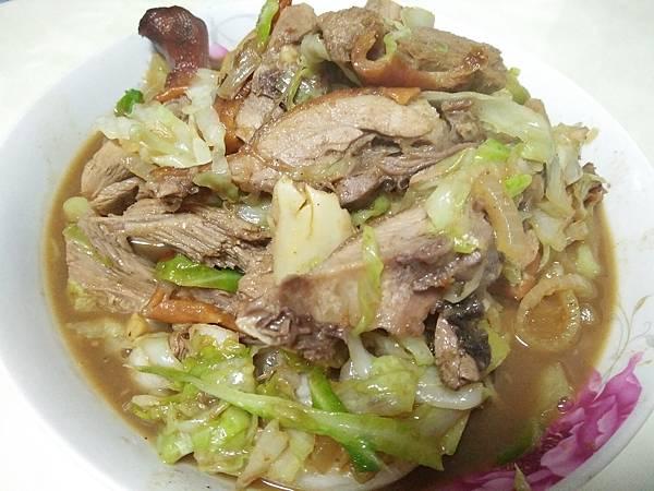 炒烤鴨~自製北平烤鴨